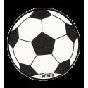 Soft Foot Ball - Râpe à pieds Noir