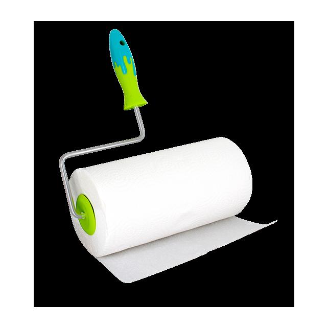 Portarotolo asciugatutto - Splash Verde