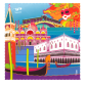 Mikrofasertuch - Belle Vue City Bologne