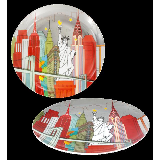 Sweet City - Assiette New-York