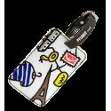 Etichetta per bagaglio - Voyage Alice