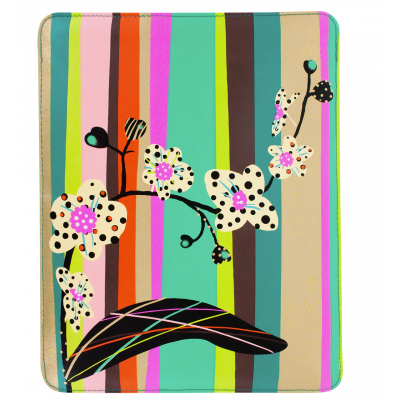 Tablet cover - Voyage - Orchid