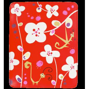 Housse pour tablette - Voyage - White Flower