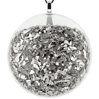 Necklace - Galet Giga Paillettes