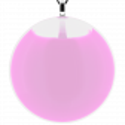 Necklace - Galet Giga Milk White
