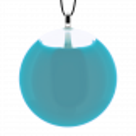 Necklace - Galet Medium Milk