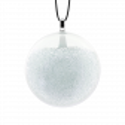 Pendentif en verre soufflé - Galet Mini Billes