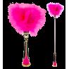 Toupet Or Not Toupet - Plumeau télescopique Rose