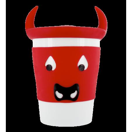 Trophy Mug - Tasse mit Deckel