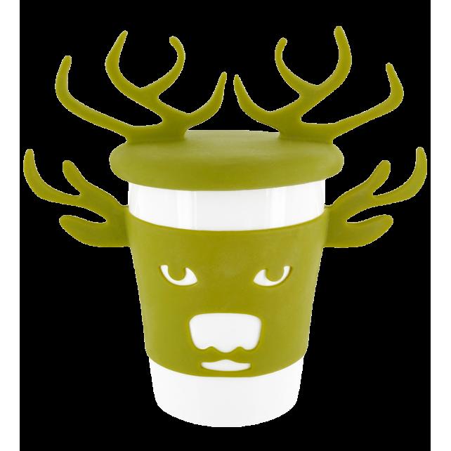 Trophy Mug - Mug et couvercle Deer