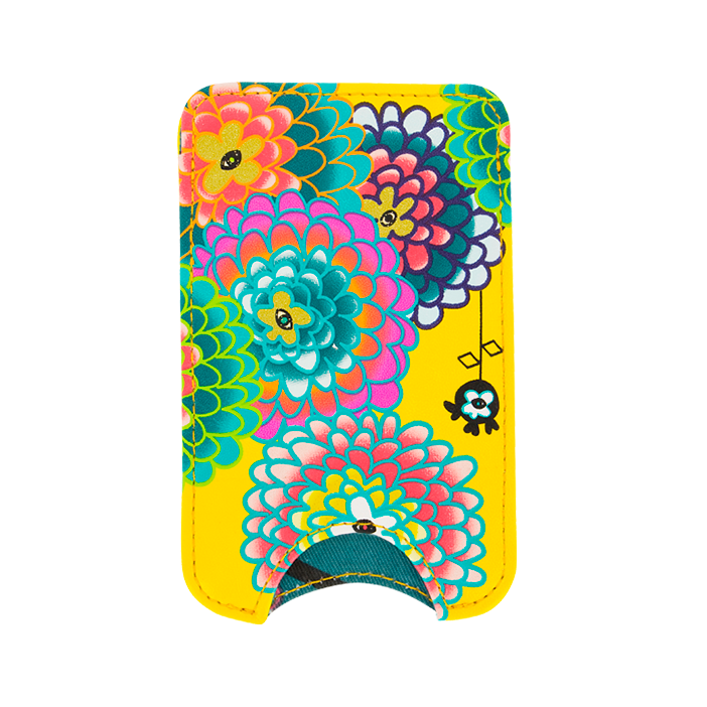 Klein Smartphone-Etui - Voyage Dahlia