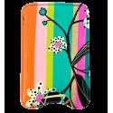 Klein Smartphone-Etui - Voyage White Flower