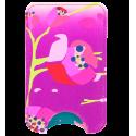 Small smartphone case - Voyage White Flower