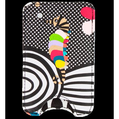 Small smartphone case - Voyage Silver Spots