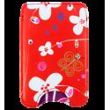 Small smartphone case - Voyage Dahlia