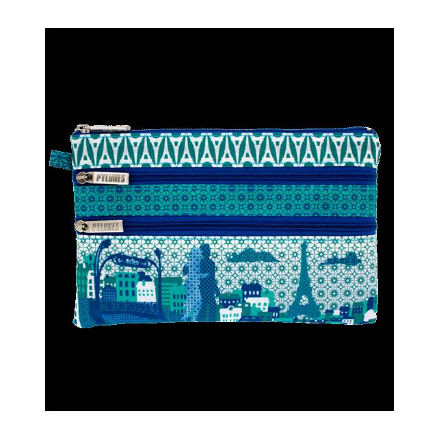 3 zip pouch - Zip My Town Paris