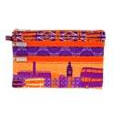 Pochette 3 zips - Zip My Town London