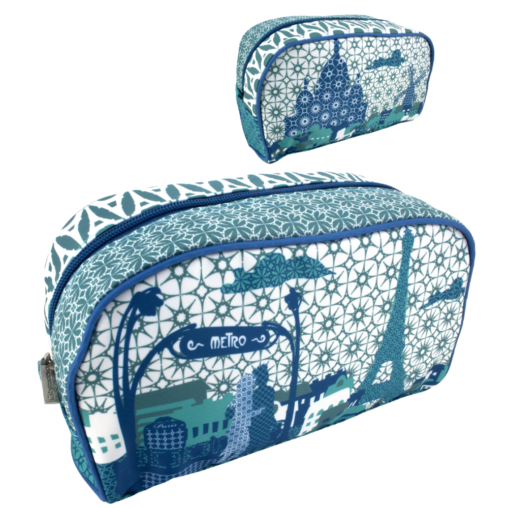 wash my town toiletry case pylones. Black Bedroom Furniture Sets. Home Design Ideas