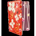 Passport holder - Voyage Orchid Blue