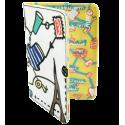 Passport holder - Voyage Coquelicots