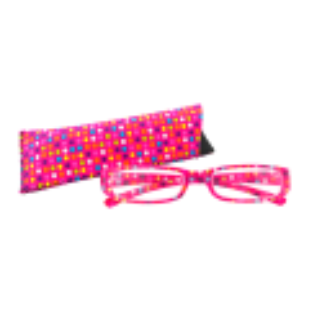 Lunettes X3 Pois Colorés - Glasses