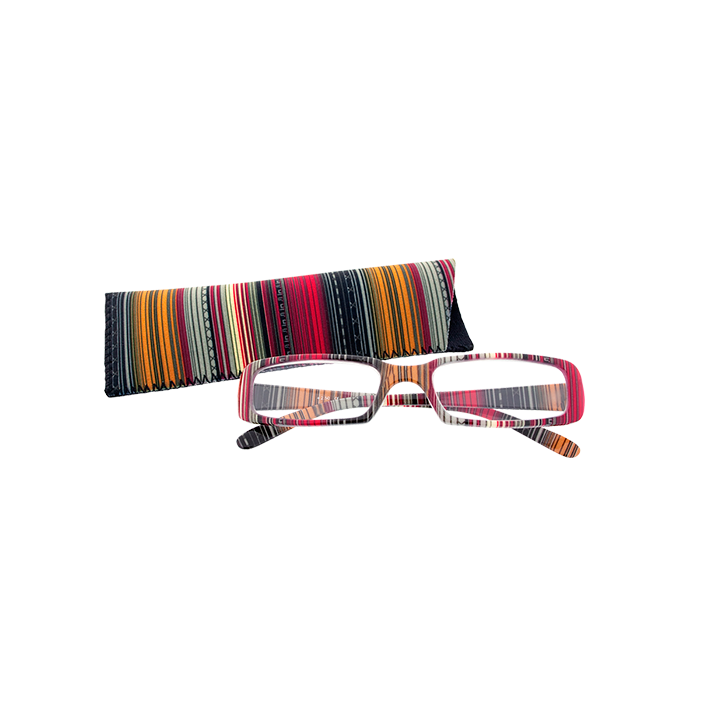 Lunettes X3 Rayures - Glasses 300