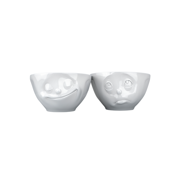 Set of 2 bowls - Emotion Set