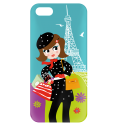 Coque pour iPhone 5/5S - I Cover 5 Pixel