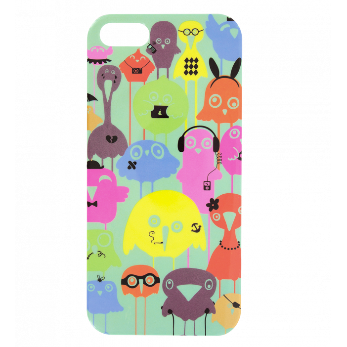 Case for iPhone 5/5S - I Cover 5 Funny Bird