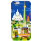 I Cover 6 - Coque pour iPhone 6 Paris Bleu