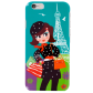 Coque pour iPhone 6 - I Cover 6 Paris Bleu