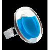 Cachou Medium Billes - Bague en verre Royal blue
