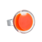 Cachou Mini Milk - Bague en verre Orange