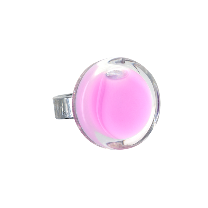 Anello in vetro - Cachou Mini Milk Bubble Gum
