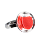 Bague en verre - Cachou Nano Billes Orange