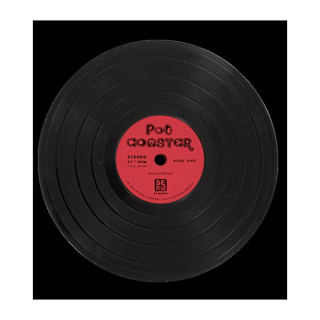 Pot Coaster - Dessous de plat Rot