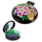 2 in 1 hairbrush and mirror - Lady Retro Queen