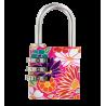 Lock Me Up - Cadenas à combinaison Flowers