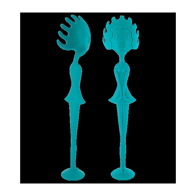 Spaghetti-Löffel - Miss Pasta Blau