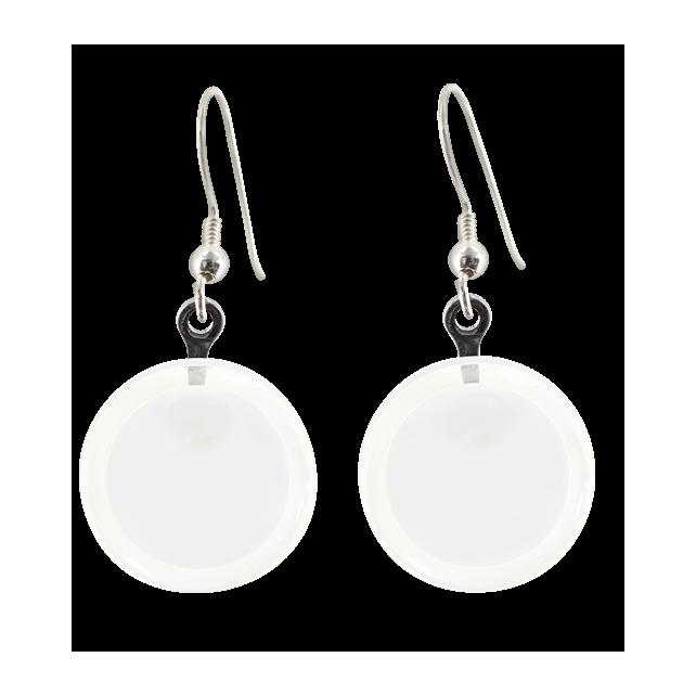 Hook earrings - Cachou Milk