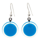 Hook earrings - Cachou Milk