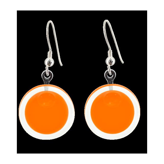 Cachou Milk - Boucles d'oreilles crochet Orange