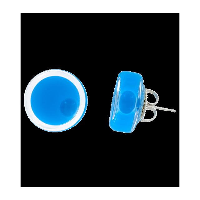 Cachou Milk - Boucles d'oreilles clou Blu reale
