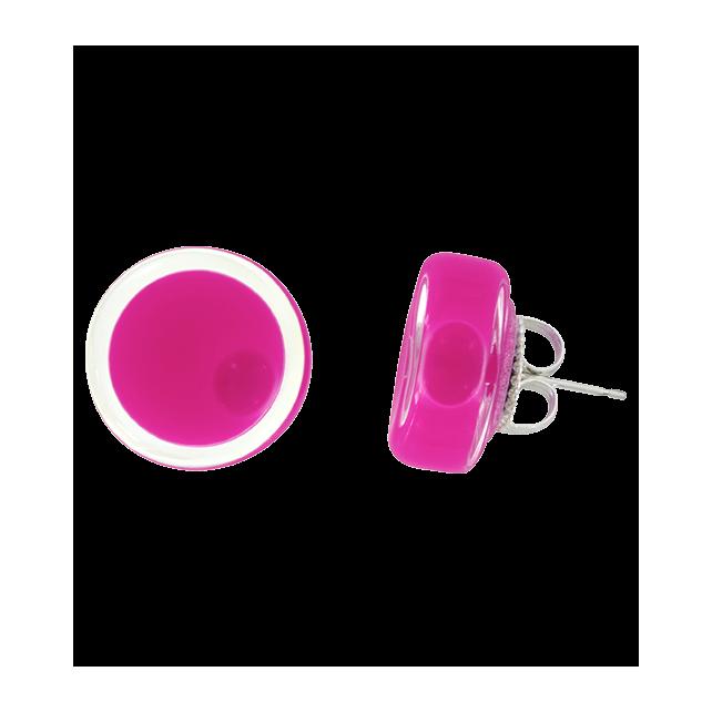 Stud earrings - Cachou Milk