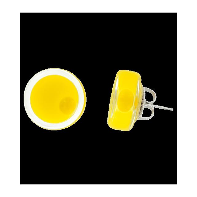 Cachou Milk - Boucles d'oreilles clou Gelb