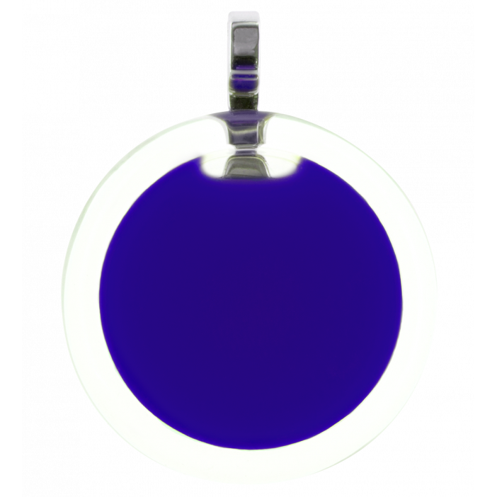 Cachou Medium Milk - Pendentif Dark Blue