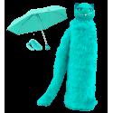 Compact umbrella - Chapka Black