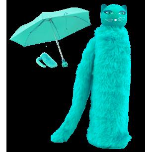Compact umbrella - Chapka - Turquoise