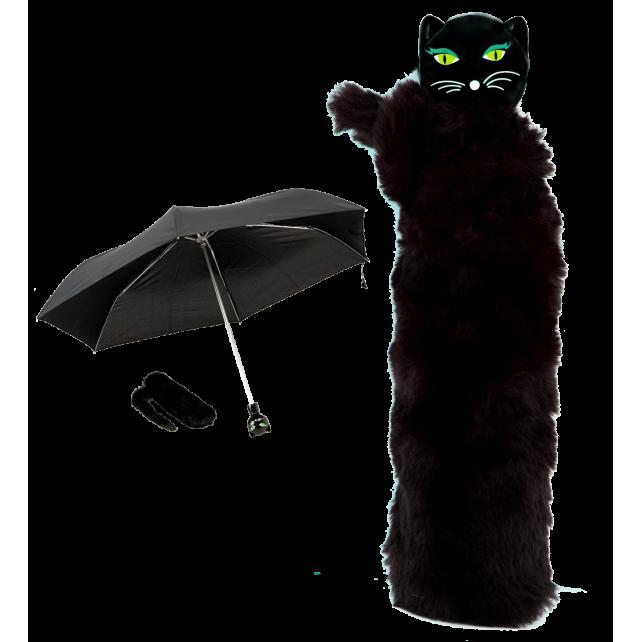 Chapka - parapluie pliant Noir 2