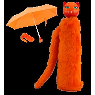 Compact umbrella - Chapka - Orange